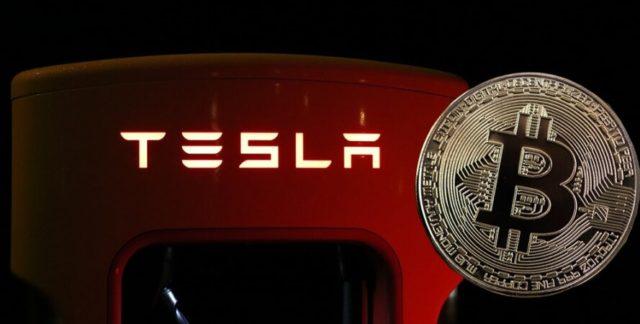 Tesla несет потери на фоне снижения цены биткоина